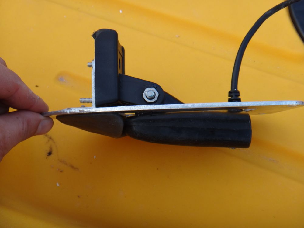 hobie forums • view topic - side scan transducer mounting options, Fish Finder